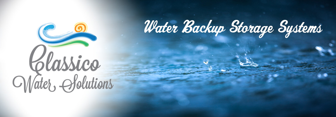 Water Backup Storage Systems